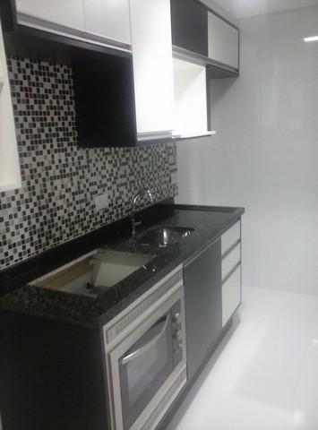 Ambiente Planejado Apartamentos Pequenos São Bernardo do Campo - Ambientes Planejados Cozinha Americana