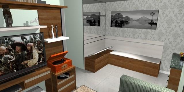 Ambiente Planejado Sala São Caetano do Sul - Ambientes Planejados Cozinha Americana