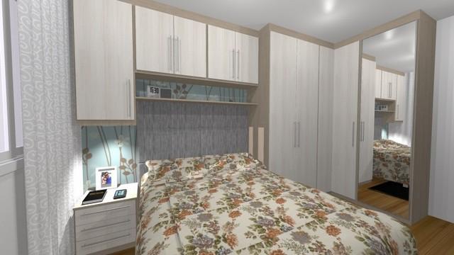 Dormitório Planejado Apartamento Preço Santo André - Dormitório Planejado Casal Pequeno