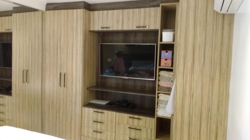 Dormitório Planejado de Casal Preço Santo André - Dormitório Planejado Casal Pequeno