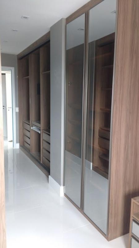 Dormitórios Planejados com Sapateira São Paulo - Dormitório Planejado Casal Pequeno
