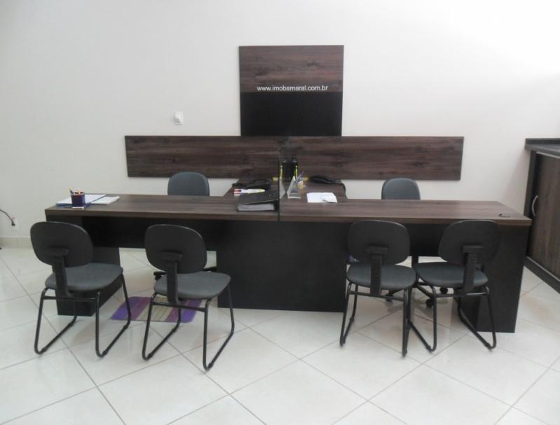 Móveis Planejados para Recepção Santo André - Móveis Planejados para Escritório de Luxo