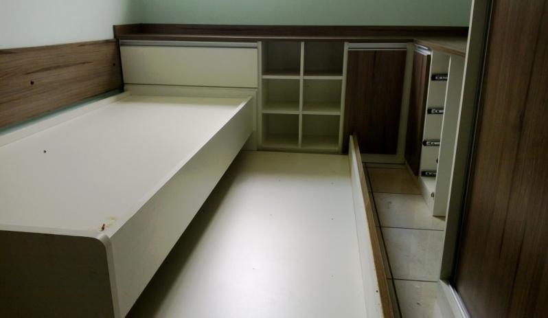 Onde Encontro Dormitório Planejado Solteiro Santo André - Dormitório Planejado com Sapateira