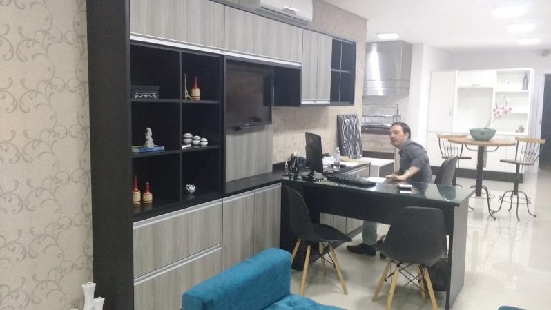 Onde Encontro Móveis Planejados para Escritório Pequeno Santo André - Móveis Planejados Corporativos
