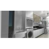 cozinha planejada para apartamentos pequenos Diadema