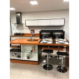 cozinha planejada para área de lazer preço Santo André