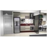 cozinha planejada para espaço pequeno