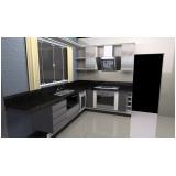 cozinhas planejadas para área de lazer Santo André