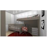 dormitório planejado solteiro