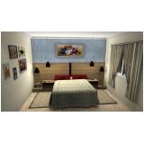 dormitório planejado de casal Diadema