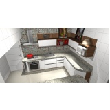 móveis para cozinha sob medida Santo André