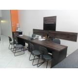 móveis para escritório sob medida preço São Bernardo do Campo