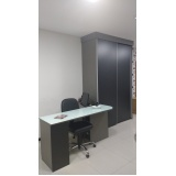 móveis planejados para escritório pequeno São Caetano do Sul
