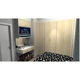 onde encontro dormitório planejado casal quarto pequeno São Paulo