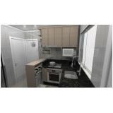 quanto custa cozinha planejada para apartamentos pequenos São Caetano do Sul