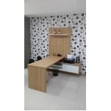 quanto custa móveis planejados de escritório de luxo Diadema