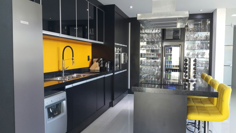 Ambiente Planejado Cozinha Americana Santo André - Ambientes Planejados Sala de Estar