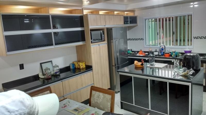 Ambiente Planejado Cozinha São Caetano do Sul - Ambientes Planejados Casas Pequenas