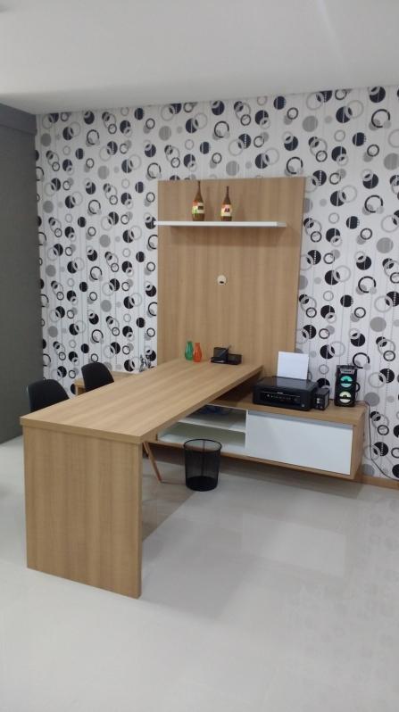 Ambiente Planejado Escritório São Bernardo do Campo - Ambientes Planejados Apartamentos Pequenos