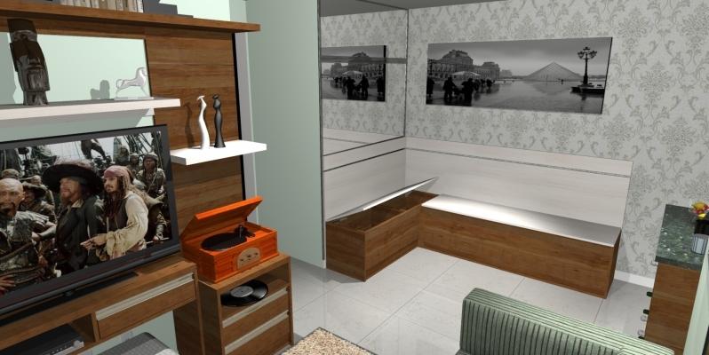 Ambiente Planejado Sala Diadema - Ambientes Planejados Cozinhas Pequenas