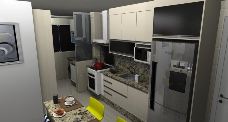 Cozinha Planejada para Apartamento São Paulo - Cozinha Planejada para Apartamentos Pequenos