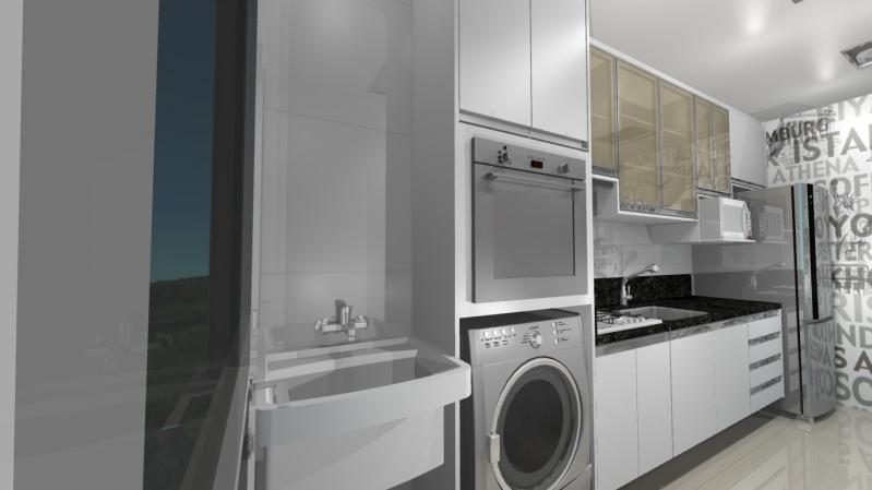 Cozinha Planejada para Apartamentos Pequenos Diadema - Cozinha Planejada para Sobrado