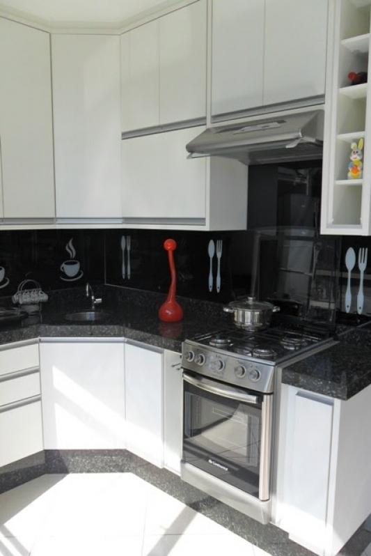 Cozinha Planejada para Cozinha Pequena Preço Santo André - Cozinha Planejada Branca