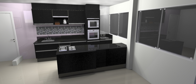Cozinha Planejada para Residencia Preço Santo André - Cozinha Planejada para Apartamento