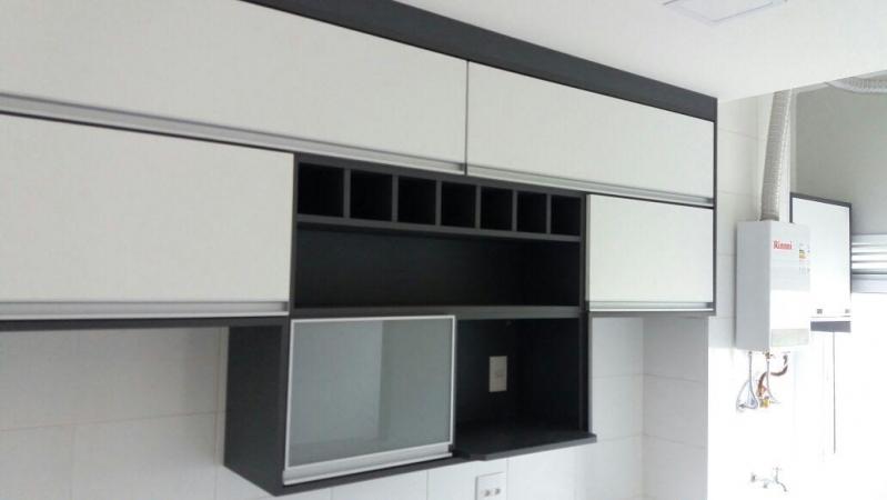 Cozinhas Planejadas para Apartamentos Pequenos São Paulo - Cozinha Planejada Branca