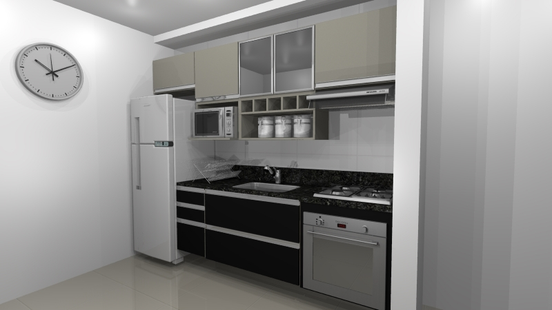 Cozinhas Planejadas para Cozinhas Pequena São Bernardo do Campo - Cozinha Planejada para Espaço Pequeno