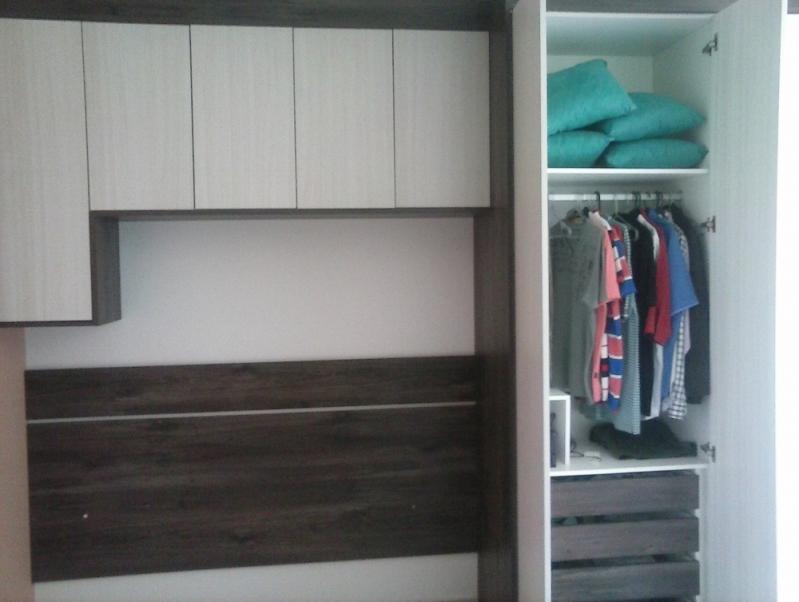 Dormitório Planejado Casal Pequeno Preço Santo André - Dormitório Planejado Casal Quarto Pequeno