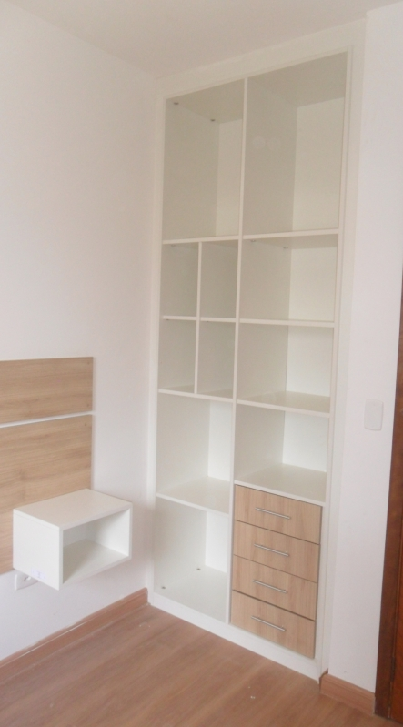 Dormitório Planejado Casal Quarto Pequeno Preço Santo André - Dormitório Planejado Casal
