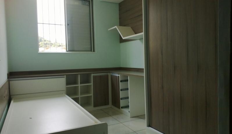 Dormitório Planejado Solteiro São Bernardo do Campo - Dormitório Planejado com Sapateira