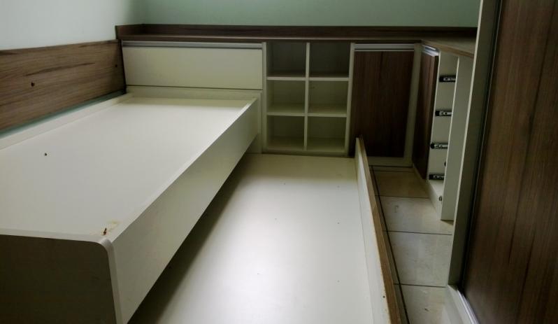 Dormitórios Planejados Casal Quarto Pequeno São Paulo - Dormitório Completo Planejado Casal