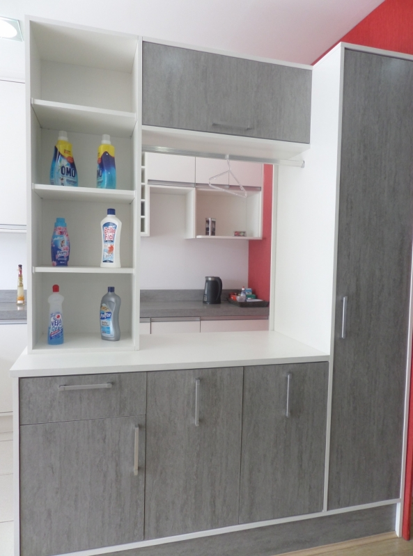 Móveis para Lavanderia sob Medida Valor Santo André - Móveis para Cozinha sob Medida