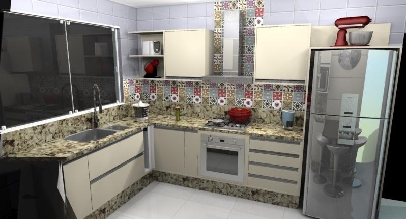 Móveis Planejados para Cozinha de Apartamento Santo André - Móveis Planejados para área de Serviço