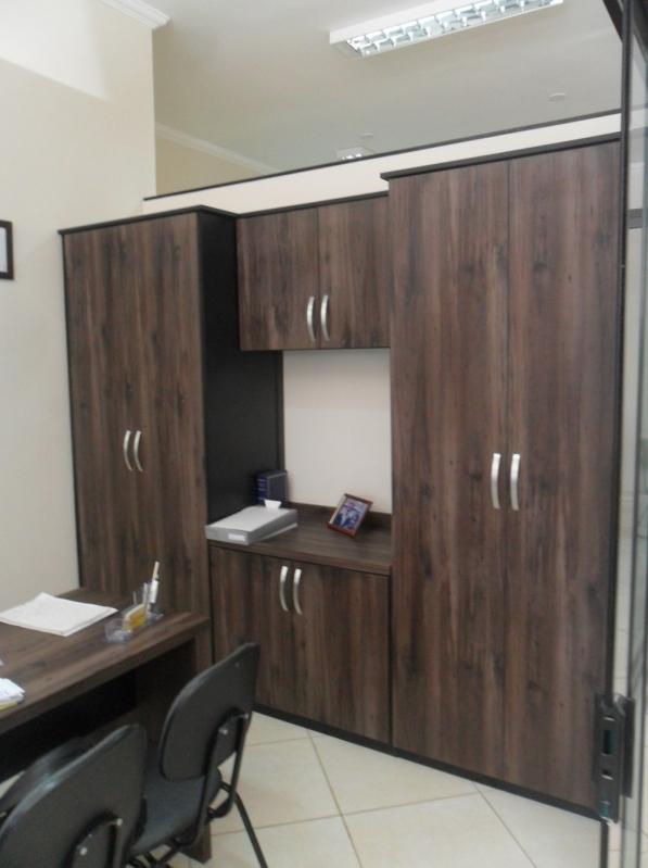 Móveis Planejados para Escritório Pequeno Valor São Bernardo do Campo - Móveis Planejados Corporativos