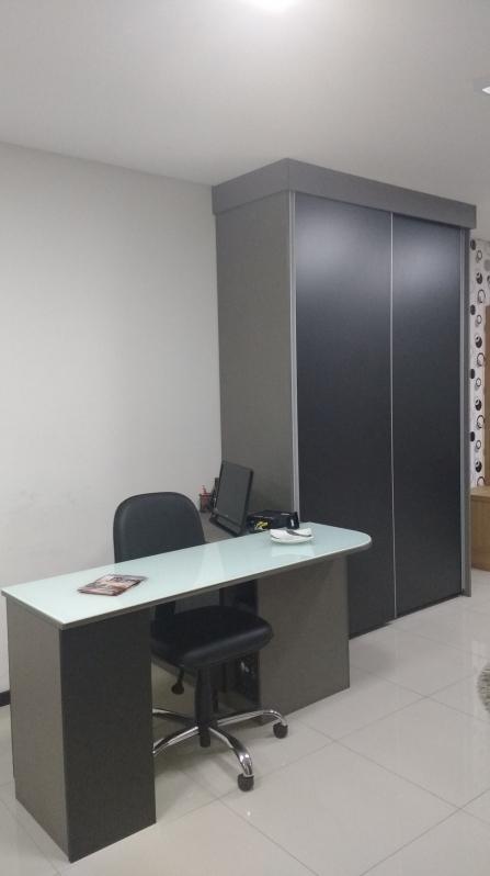 Móveis Planejados para Escritório Pequeno São Paulo - Móveis Planejados de Escritório de Luxo