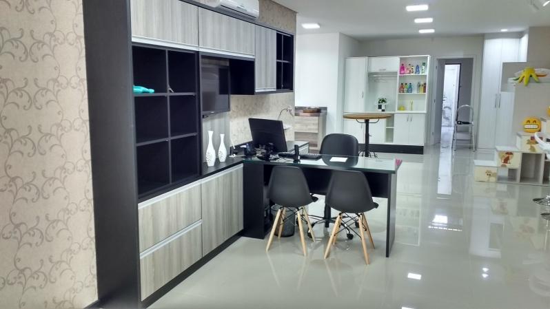 Móveis Projetados para Escritório de Alto Padrão Valor São Paulo - Móveis Planejados para Escritório de Luxo