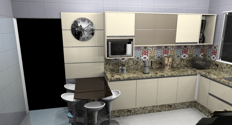 Onde Encontro Cozinha Planejada para Sobrado São Paulo - Cozinha Planejada para Cozinha Pequena