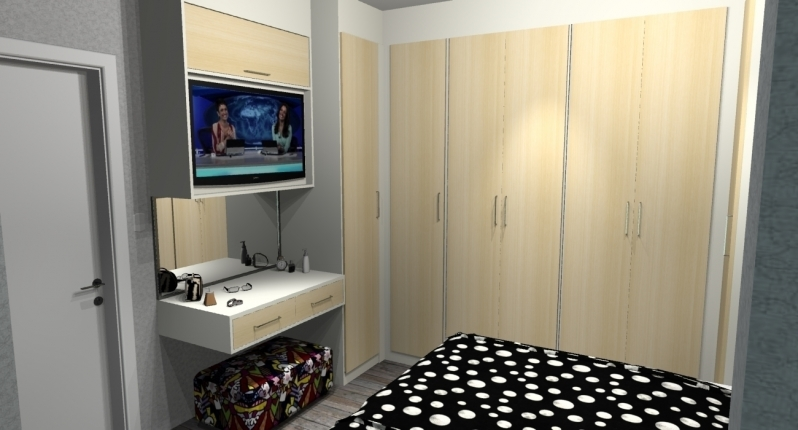 Onde Encontro Dormitório Planejado Casal Quarto Pequeno São Paulo - Dormitório Planejado Solteiro