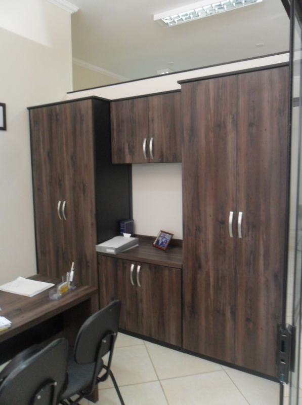 Onde Encontro Móveis Projetados para Escritório de Alto Padrão São Bernardo do Campo - Móveis Planejados para Hall de Entrada