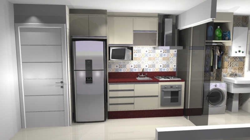 Onde Vende Móveis Planejados para Apartamento Santo André - Móveis Planejados para Cozinha de Apartamento