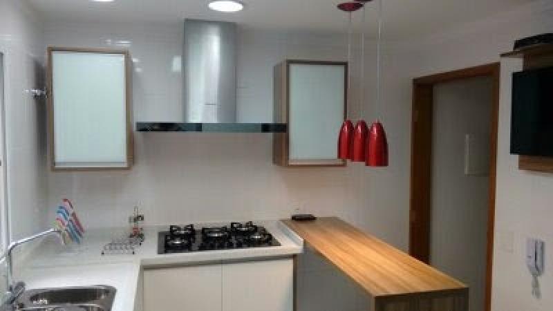 Quanto Custa Cozinha Planejada Branca e Madeira São Caetano do Sul - Cozinha Planejada para Casas