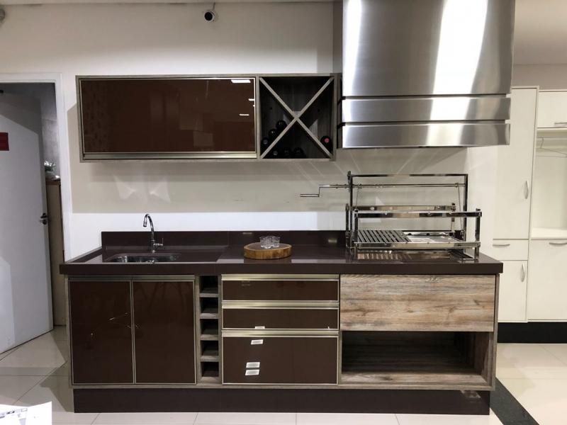 Quanto Custa Cozinha Planejada para Casas Pequenas Santo André - Cozinha Planejada para área de Lazer