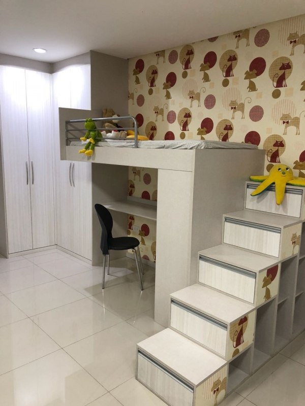 Quanto Custa Dormitório Planejado Casal Quarto Pequeno Santo André - Dormitório Planejado de Casal