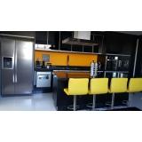 ambientes planejados cozinha americana preço São Paulo