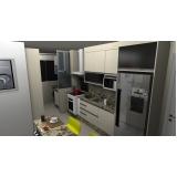 cozinha planejada para apartamento Santo André