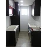 cozinha planejada para apartamentos pequenos preço São Caetano do Sul