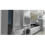 cozinha planejada para apartamentos pequenos São Caetano do Sul
